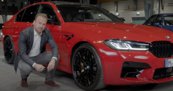 The dynamics story of the BMW M5 Competition