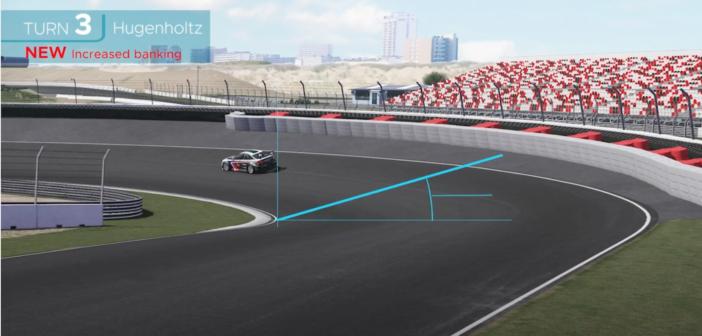 Modelling the 2020 Zandvoort track changes