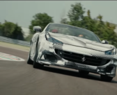 The Ferrari Portofino M on track