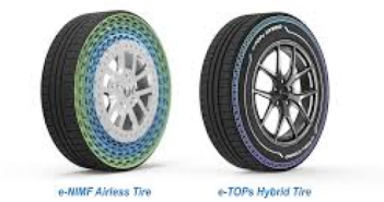 Kumho wins awards for airless and hybrid tyres
