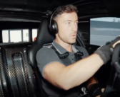AMG's driving simulator in action
