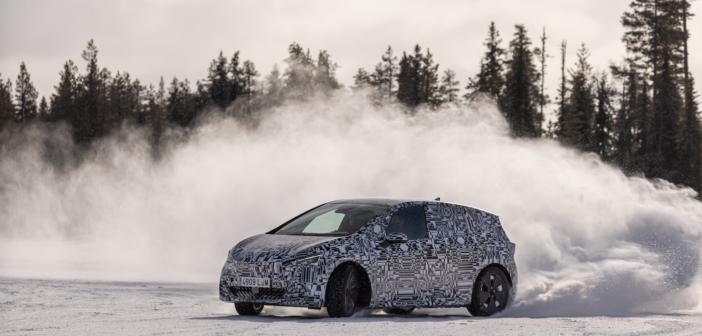 The Cupra Born's final winter tests: at -30ºC