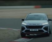 The all-new Hyundai Kona N on track