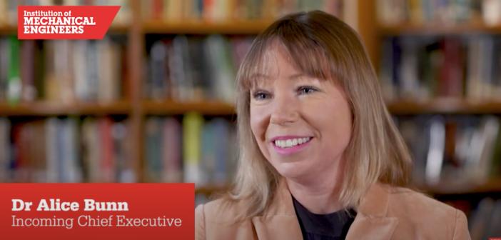Meet Dr Alice Bunn, IMechE's new CEO