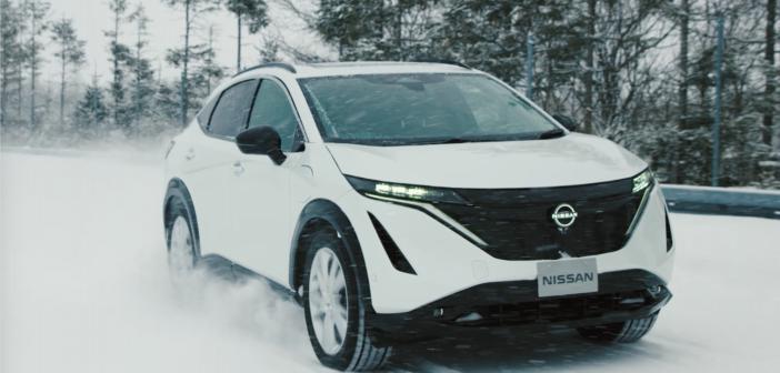 Behind-the-scenes at Hokkaido: testing the Nissan Ariya