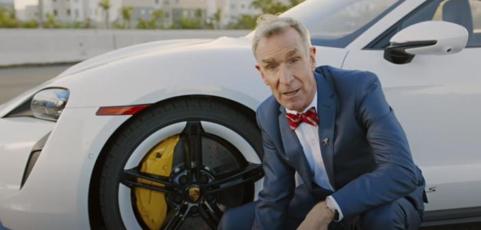 Bill Nye explains the Taycan's regenerative braking