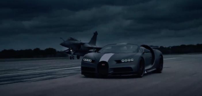 Chiron Sport v fighter jet – a 7,227PS race