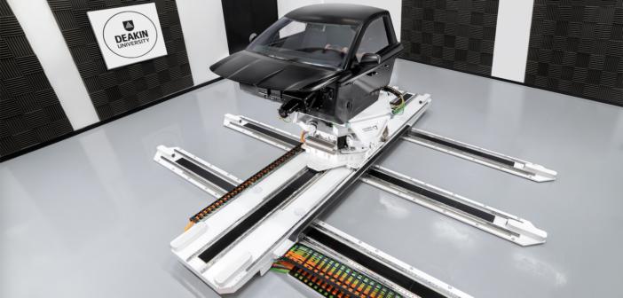 Deakin University installs next-generation motion simulator